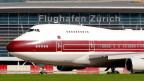 Drei Maschinen der königlichen Fluggesellschaft Qatar Amiri Flight landeten während der Nachtruhesperre auf dem Flughafen Zürich.