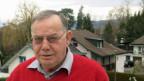 Walter Zürcher, politisches Urgestein in der Gemeinde Merlach.