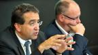 FDP-Finanzminister Pascal Broulis und SP-Politiker Pierre-Yves Maillard haben einen Pakt geschlossen: Für ausländische Firmen werden die Steuern nur geringfügig erhöht. Gleichzeitig erhalten die inländischen Betriebe eine substantielle Steuersenkung.