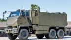 Ein gepanzertes Mannschaftstransportfahrzeug Duro der Schweizer Armee.