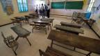 Besuch einer Schule in Tunesien, die mit Hilfe von Schweizer Entwicklungsgeldern gebaut wurde.