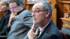 Guy Parmelin, ein Getriebener: Fast 100 Tage im Bundesrat, die eigene Partei stets im Nacken.