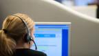 In der Schweiz wechseln im Schnitt jeden Tag rund 3000 Menschen die Stelle. Bild: Mitarbeiterin im Callcenter.