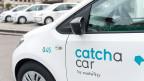"""Die Benützer können ohne vorherige Reservation mit einem """"Catch a Car""""-Fahrzeug von A nach B fahren und es am Ziel abstellen."""