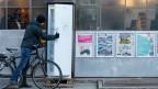 Die Gemeinschaftskühlschränke des Projekts «Bern isst Bern» stehen der Bevölkerung und lokalen Läden zum Austausch von Lebensmitteln zur Verfügung.