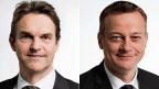 Wer bezahlt die Schweizer Politik? Ein neuer Versuch,  Licht ins Dunkel der Parteienfinanzierung zu bringen – mit einer Initiative. Bild: FDP-Nationalrat Beat Walti und BDP-Nationalrat Martin Landolt.