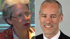 Susanne Lippmann-Rieder und Bruno Imthurn.