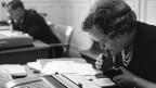 Paula Aeschbach war zusammen mit einer welschen Kollegin die erste Frau in den Ratssälen des Bundeshauses.