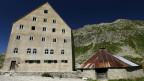 Das «Ospizo San Gottardo» auf dem Gotthardpass auf 2100 Meter über Meer.
