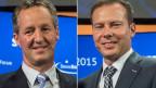 Peter Stähli (links) und Stefan Linder, Gründer des Swiss Economic Forums SEF.