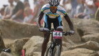 Der ruandische Radrennfahrer Adrien Niyonshuti.
