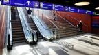 Was, wenn eine Rolltreppe nicht nur Strom verbrauchen, sondern selber solchen produzieren würde? Rein theoretisch sei dies kein Problem, sagt der SBB-Energiemanager.