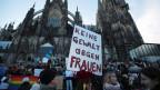 Demonstrationen nach den sexuellen Übergriffen in der Silvesternacht in Köln. Jetzt wird das deutsche Strafrecht härter.