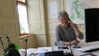 Direkter Draht zu den Bürgerinnen und Bürgern: Gemeindepräsidentin Dorothea Altherr hat für alle ein offenes Ohr.