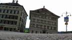 Wo bis vor 20 Jahren durch Handheben abgestimmt wurde: der Trogener Landsgemeindeplatz.