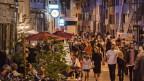 Was ist wichtiger an lauen Sommerabenden? Eine lebendige Innenstadt oder eine für Bewohner ruhige (Schlaf)Gegend.