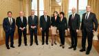 Gruppenbild des Gesamtbundesrates im Dezember 2015. Zwei Mitglieder mehr wären zu viel, meint die Mehrheit im Nationalrat.