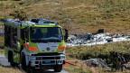 Der Flug fand im Rahmen einer OSZE-Inspektion statt. Die Maschine vom Typ Super-Puma hatte beim Hospiz vier französische Offiziere und ihre Begleiter abgesetzt. Kurz nachdem sie wieder gestartet war, stürzte sie ab.