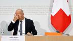 Sozialminister Alain Berset – der Verlierer nach der Debatte zur Altersvorsorge 2020.