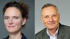 Franziska Ehrler und Christian Suter , Co-Autoren des Sozialberichts 2016.