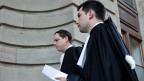 Das Genfer Gericht fordert ein zusätzliches psychiatrisches Gutachten über den Täter. Die Beiden Anwälte von Fabrice A. (Bild) haben Prozesspause.