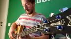 Bassist Dave Demuth gehörte zu den ersten fünf Musikern, die an der ZHdK Popmusik studiert haben.