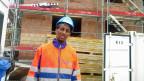 Der Eritreer Simon Debesay absolviert im Kanton Glarus das Berufseinführungspogramm.