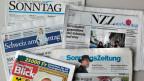 Schweizer Sonntags-Zeitungen.