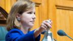 Nationalratspräsidentin Christa Markwalder.
