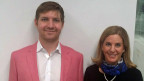 Im Tagesgespräch: Jay Lieberherr und Ann-Kathrin Greutmann.