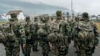 Swisscoy –Soldaten in der Ausbildung.