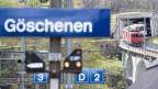 Einst wohnten 3'000 Menschen in Göschenen, heute sind es noch 450.