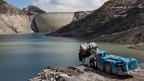 Das Pumpspeicherkraftwerk Nant de Drance in Finhaut im Kanton Wallis, wo uranhaltiges Gestein gefunden wurde.
