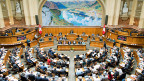 Am Ende lehnt eine Mehrheit aus SVP, FDP und BDP den Vorschlag der Einigungskonferenz ab. Das Bundesbudget sieht nun rote Zahlen von 250 Millionen Franken vor.