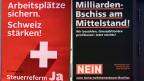 Die Linke kämpft erbittert gegen die Unternehmenssteuerreform III. Damit würden national die Steuern für Unternehmen gesenkt – damit die Schweiz attraktiv bleibt für internationale Firmen. Beide Lager sind einig, dass ein Ja zu Steuerausfällen führen würde. Umstritten ist, wie hoch diese ausfallen würden.