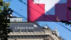 Statistiken der Nationalbank zeigen, dass ausländische Kunden noch immer gut 3'200 Milliarden Franken auf Schweizer Bankkonti liegen haben. Bild: Paradeplatz Zürich.