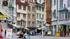 In St. Gallen hat es viele günstige Wohnungen, welche es sonst in grösseren Städten kaum gibt. Bild: St. Galler Innenstadt.