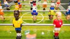 Tischfussball-Spiel im FIFA-Museum Zürich. Etwa 11'000 Personen pro Monat haben im vergangenen Jahr das FIFA-Museum besucht; gerechnet hatte die FIFA mit rund 20'000 Personen.