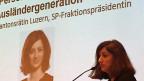 Ylfete Fanaj, SP-Fraktionschefin im Luzerner Kantonsrat hat an der SVP-Delegiertenversammlung in Schenkon argumentiert, dass die Vorlage für erleichterte Einbürgerung der dritten Ausländergeneration nur etwa 0,3 Prozent der gesamten Bevölkerung der Schweiz betreffe. Ihr Referat blieb ohne grosse Wirkung. Die Meinungen bei der SVP sind gemacht.