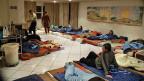 Notschlafstelle für Arbeitsmigranten in Zürich.