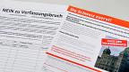 Das Volk soll über die Umsetzung der Zuwanderungsinitiative entscheiden – aus vier verschiedenen Ecken kommen Referenden.