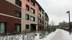 Die Grünmatt-Siedlung ist das aktuelle Vorzeige-Projekt der Familienheim-Genossenschaft. Noch vor ein paar Jahren eine typische Reihenhaus-Siedlung mit 64 Häuschen, stehen heute hier 155 Wohnungen.