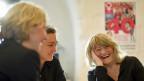 Auch für die Generation nach Alice Schwarzer ist der Feminismus zu einer Lebenseinstellung geworden. Bild: Alice Schwarzer und Mitarbeiterinnen vor der 40-Jahre-Emma-Jubiläumsausgabe.