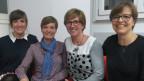 Vier Unternehmerinnen, die sich im Verein «Mampreuneur» austauschen.