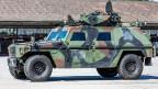 Ein «Eagle»-Aufklärungsfahrzeug der Schweizer Rüstungsfirma MOWAG.