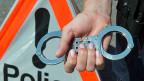 Einer von zwei Tatverdächtigen wurde anlässlich der Grossrazzia im Tessin festgenommen. (Symbolbild)
