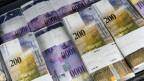 Rund 800 Millionen Franken mehr als budgetiert liegen in der Bundeskasse.