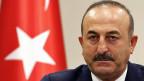 Am vorletzten Wochenende war ein geplanter Auftritt des türkischen Aussenministers Mevlüt Cavusoglu in der Schweiz noch gescheitert. Nun ist er doch noch hier.