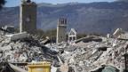 Erdbeben, Stürme, Überschwemmungen und Waldbrände haben 2016 in vielen Regionen der Welt schwere Verwüstungen angerichtet. Bild: Amatrice.