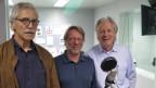 unsere Gäste im Studio von SRF4News